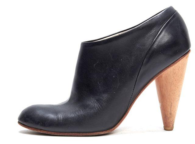 A DÉTACHER A DÉTACHER Black Leather Ankle Boots Heels
