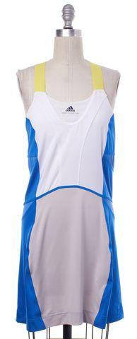 ADIDAS BY STELLA MCCARTNEY ADIDAS X STELLA MCCARTNEY White Blue Athletic Dress