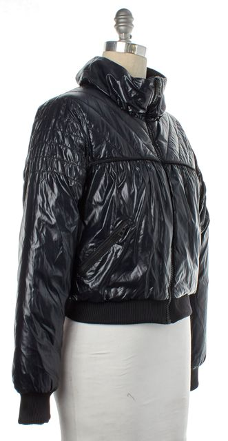 ADIDAS BY STELLA MCCARTNEY ADIDAS X STELLA MCCARTNEY Navy Blue Black Puffer Jacket