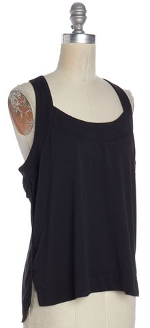 ADIDAS BY STELLA MCCARTNEY ADIDAS X STELLA MCCARTNEY Black Racerback Tank Top