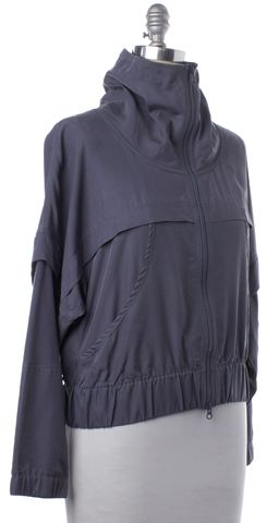 ADIDAS BY STELLA MCCARTNEY ADIDAS X STELLA MCCARTNEY Gray Zip Up Jacket