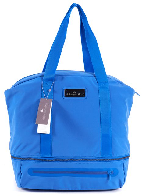 ADIDAS BY STELLA MCCARTNEY Flight Blue Gunmetal Weekender Duffle Bag