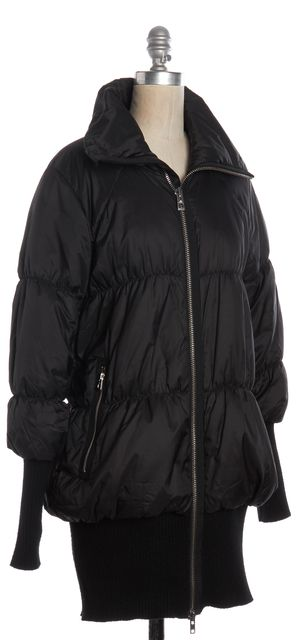 ADIDAS BY STELLA MCCARTNEY Black Puffer Jacket