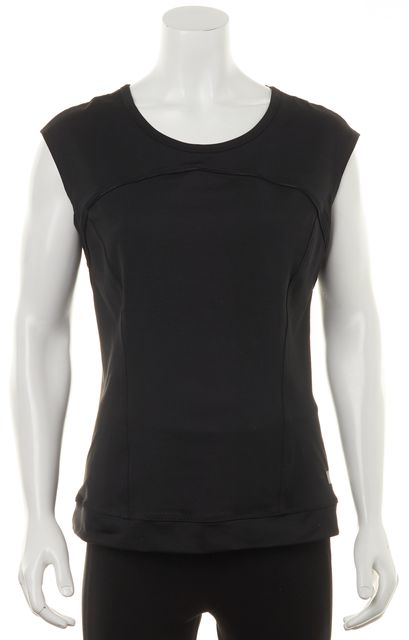 ADIDAS BY STELLA MCCARTNEY Black T'Shirt Top