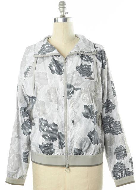 ADIDAS BY STELLA MCCARTNEY Gray Multicolor Floral Basic Jacket