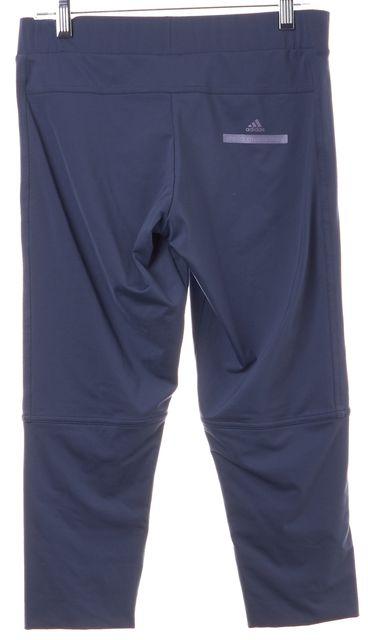 ADIDAS BY STELLA MCCARTNEY Blue Stretch Workout Athleisure Cropped Leggings