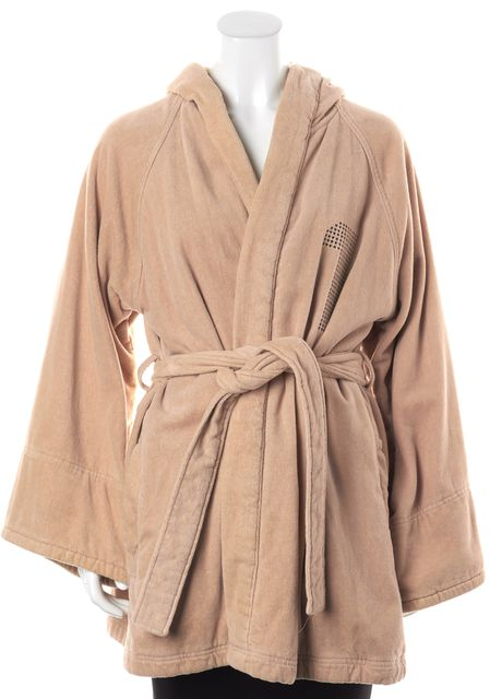 ADIDAS BY STELLA MCCARTNEY Beige Graphic Print Robe Jacket