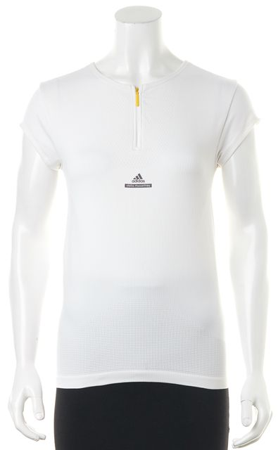 ADIDAS BY STELLA MCCARTNEY Nylon White Polo Sport Shirt Top