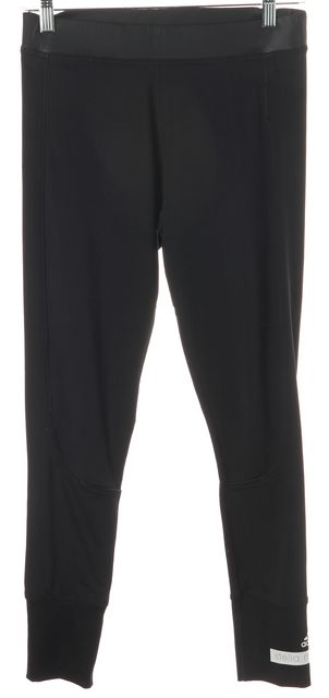 ADIDAS BY STELLA MCCARTNEY Black Stretch Workout Athleisure Leggings