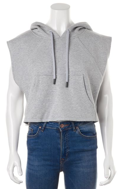 ADIDAS BY STELLA MCCARTNEY Gray Hooded Sweater