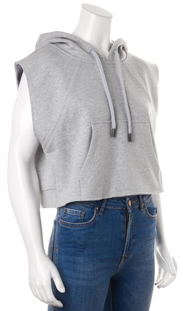 ADIDAS BY STELLA MCCARTNEY Gray Hooded Sweater