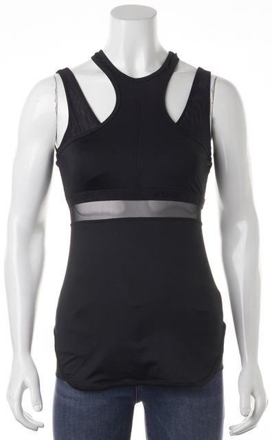ADIDAS BY STELLA MCCARTNEY Black Athletic Sleeveless Work-Out Top
