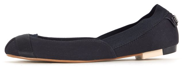 ADIDAS BY STELLA MCCARTNEY Black Canvas Marama Ballet Flats