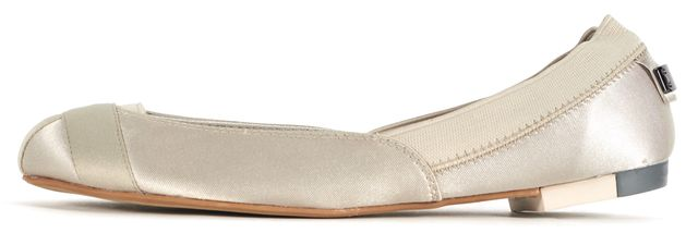ADIDAS BY STELLA MCCARTNEY Beige Canvas Marama Ballet Flats