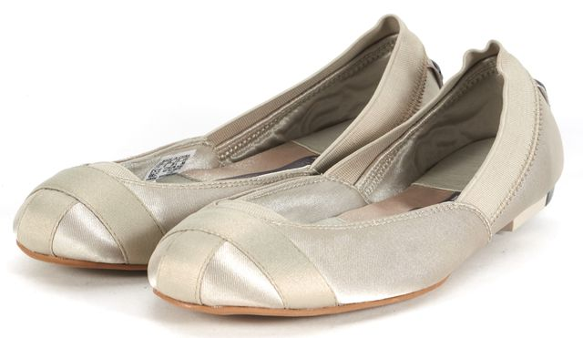 ADIDAS BY STELLA MCCARTNEY Beige Canvas Marama Ballet Flats