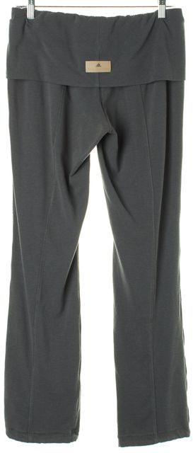 ADIDAS BY STELLA MCCARTNEY Blue Bamboo Drawstring Legging Pants