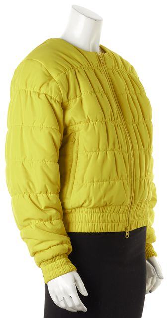 ADIDAS BY STELLA MCCARTNEY Bright Yellow Padded Puffer Outerwear