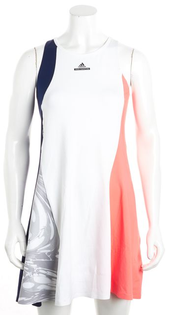 ADIDAS BY STELLA MCCARTNEY Multi-color Colorblock Fit & Flare Dress