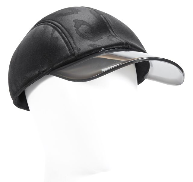ADIDAS BY STELLA MCCARTNEY Black Tinted Brim Baseball Cap Hat
