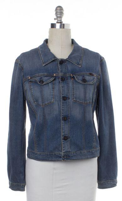 AG ADRIANO GOLDSCHMIED Blue Jean Jacket