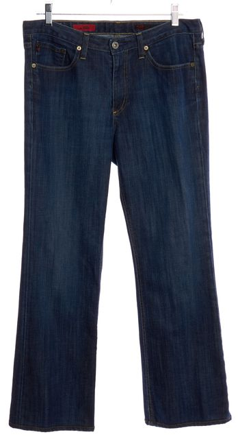 AG ADRIANO GOLDSCHMIED Blue The Elite Straight Leg Jeans