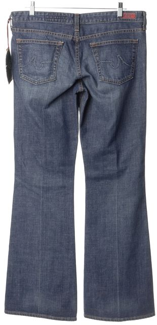 AG ADRIANO GOLDSCHMIED Blue Flare Jeans