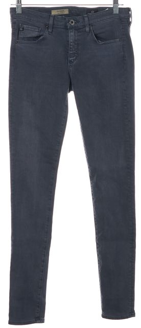 AG ADRIANO GOLDSCHMIED Washed Blue The Legging Super Skinny Leg Jeans
