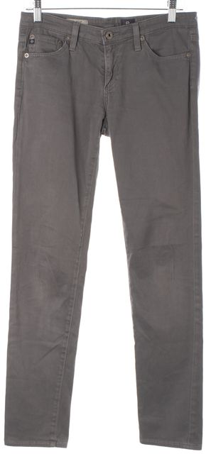AG ADRIANO GOLDSCHMIED Gray The Stilt Cigarette Slim Fit Jeans