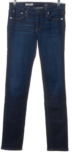 AG ADRIANO GOLDSCHMIED Blue The Stilt Cigarette Slim Fit Jeans