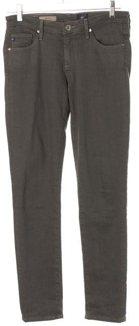 AG ADRIANO GOLDSCHMIED Gray The Stilt Cigarette Leg Skinny Jeans