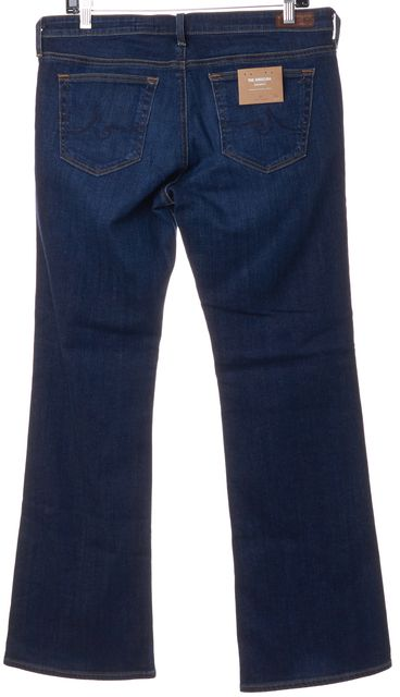 AG ADRIANO GOLDSCHMIED Blue The Angelina Petite Boot Cut Jeans
