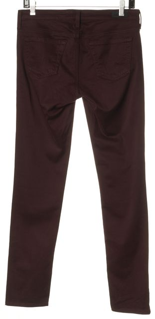 AG ADRIANO GOLDSCHMIED Red The Stilt Cigarette Jean Skinny Chinos Pants