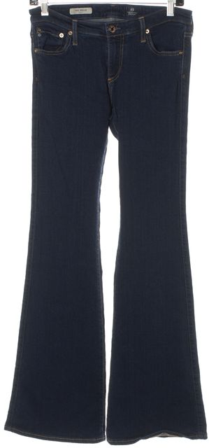 AG ADRIANO GOLDSCHMIED Blue The Belle Flare Slim Fit Boot Cut Jeans
