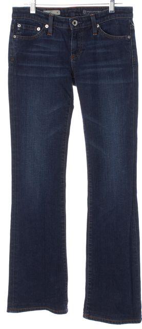 AG ADRIANO GOLDSCHMIED Blue Stretch Denim The Angel Boot Cut Jeans