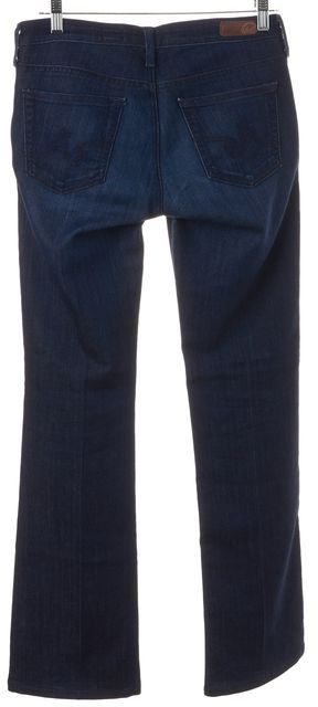 AG ADRIANO GOLDSCHMIED Blue Soft Denim The Colette Slim Boot Cut Jeans
