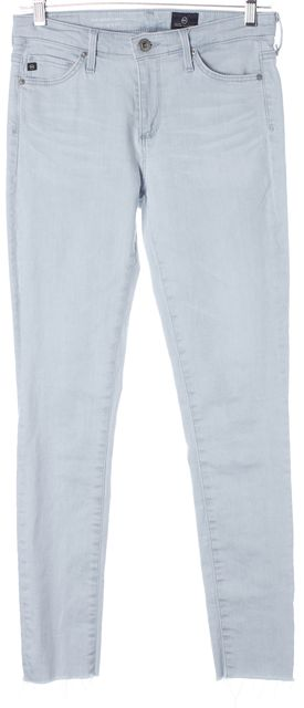 AG ADRIANO GOLDSCHMIED Blue The Middi Ankle Mid Rise Legging Skinny Jeans