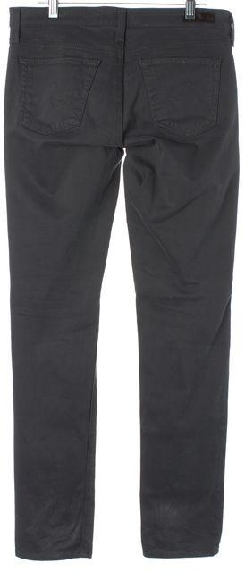 AG ADRIANO GOLDSCHMIED Gray Stilt Cigarette Leg Casual Pants