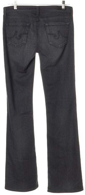 AG ADRIANO GOLDSCHMIED Black Boot Cut Jeans