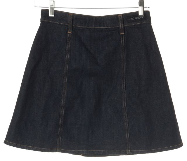 AG ADRIANO GOLDSCHMIED Alexa Chung For AG ADRIANO GOLDSCHMIED Denim A-Line Skirt