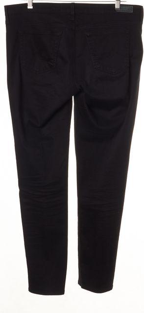 AG ADRIANO GOLDSCHMIED Black The Stilt Cigarette Leg Jeans
