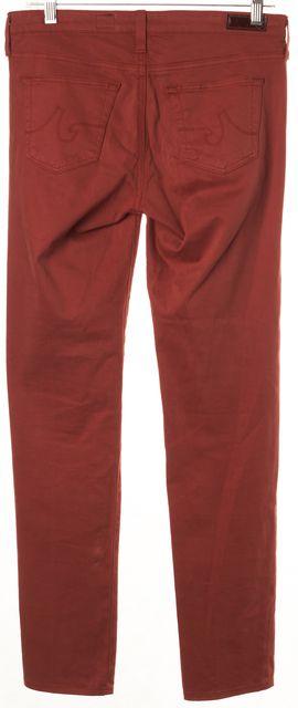 AG ADRIANO GOLDSCHMIED Orange Stilt Cigarette Leg Casual Pants