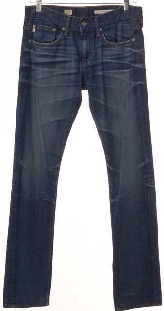 AG ADRIANO GOLDSCHMIED Blue Piper Slouchy Slim Fit Jeans