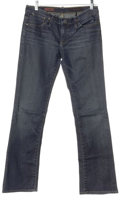 AG ADRIANO GOLDSCHMIED Blue The Kiss Slim Fit Jeans