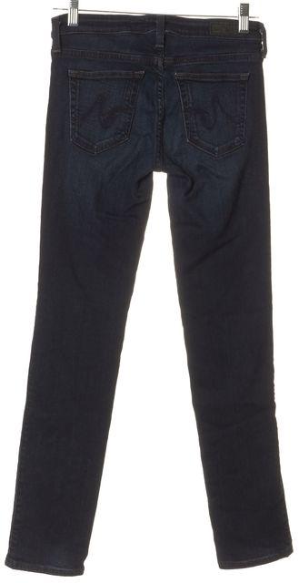 AG ADRIANO GOLDSCHMIED Blue The Stilt Cigarette Leg Jeans