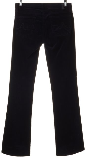 AG ADRIANO GOLDSCHMIED Navy Blue The Angel Bootcut Corduroys Pants