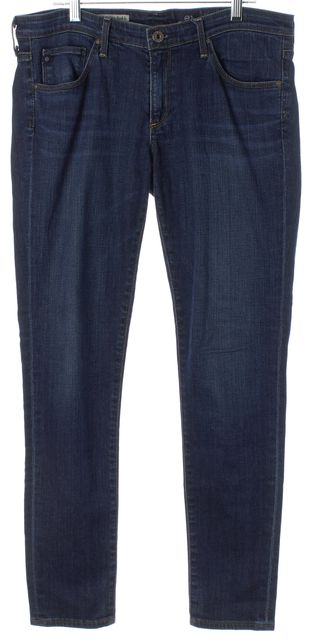 AG ADRIANO GOLDSCHMIED Blue The Legging Super Skinny Ankle Jeans