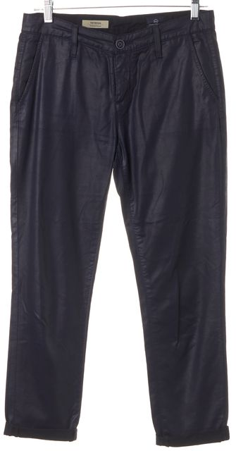 AG ADRIANO GOLDSCHMIED Blue The Tristan Tailored Trouser Straight Leg Jean