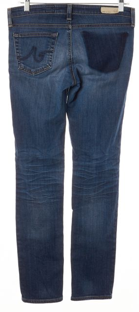 AG ADRIANO GOLDSCHMIED Blue Stilt Cigarette Leg Skinny Jeans