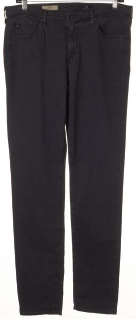 AG ADRIANO GOLDSCHMIED Gray The Prima Mid-Rise Cigarette Skinny Jeans