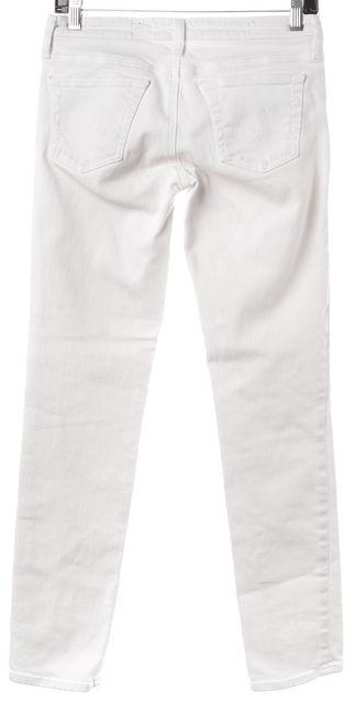 AG ADRIANO GOLDSCHMIED White Stilt Cigarette Skinny Jeans